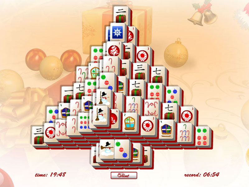 Christmas Tree Mahjong brightens your season!