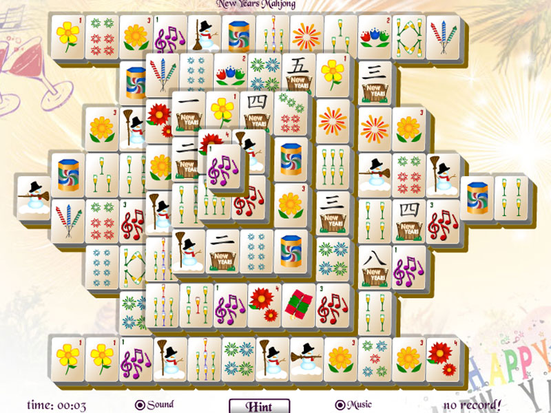 Ring in the New Year with New Years Mahjong!
