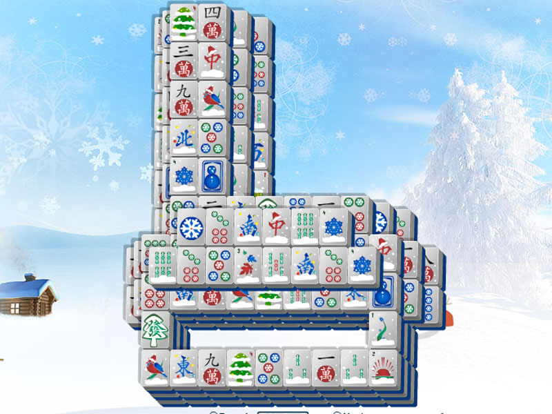 Ice Skate Mahjong skates you to fun times!