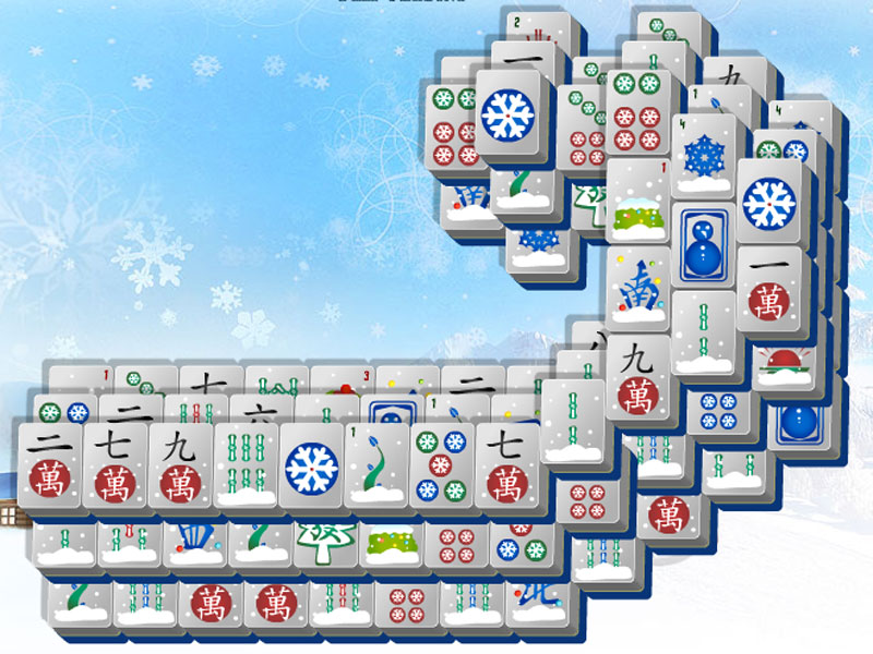Go sledding this winter with Sled Mahjong!