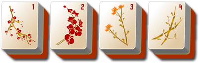 thanksgiving mahjong flowers